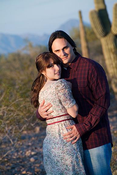 Arizona Engagement Portraits