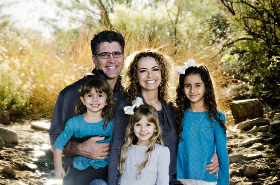 Family Portrait Gilbert Riparian Preserve