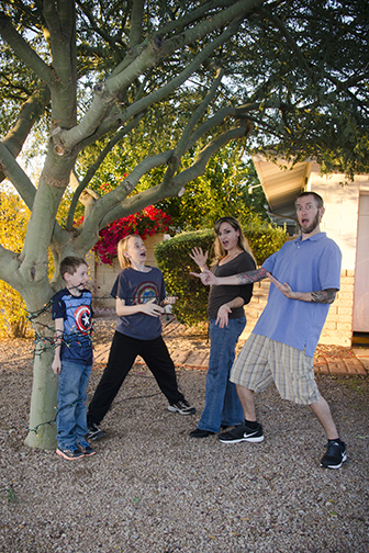 Chandler Family Portrait Christmas Card Shoot
