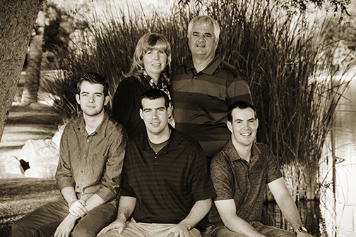 Chandler Family Portrait Photographer Takes Advantage of ASU Research Park