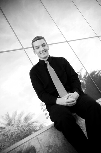C G Photo and Design Photographs High School Senior Portrait Downtown Chandler