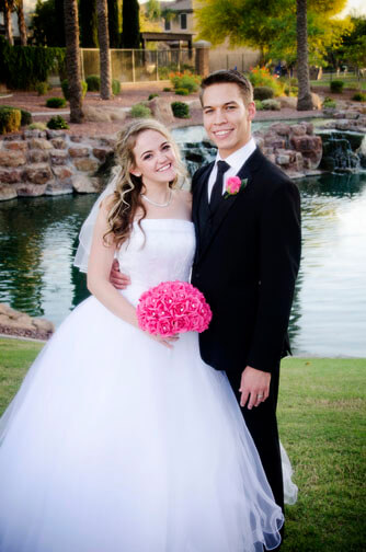 Kristi and Daniel's Wedding Photography Chandler Arizona