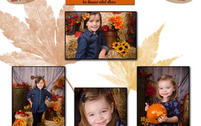 Fun Fall Portrait Mini Session