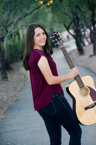 Megan's High School Senior Portrait in Chandler