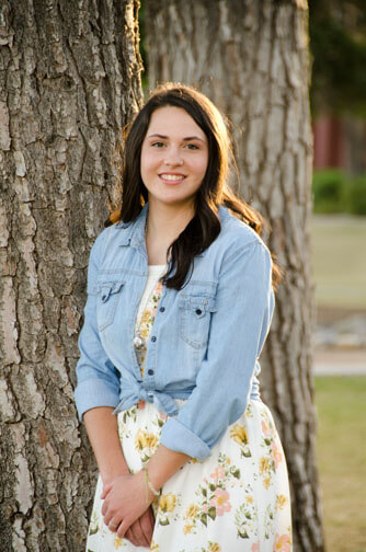Megan's High School Senior Portrait in Chandler